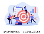 tiny people working in team for ... | Shutterstock .eps vector #1834628155
