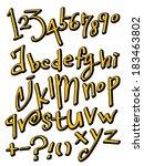 alphabet | Shutterstock .eps vector #183463802