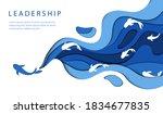 leadership concept....   Shutterstock .eps vector #1834677835
