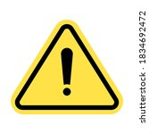 warning icon  attention icon.... | Shutterstock .eps vector #1834692472
