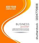professional business design... | Shutterstock . vector #1834770808
