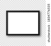realistic picture frame... | Shutterstock .eps vector #1834776535
