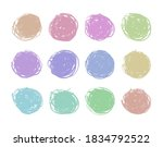 covers icons pastel girly theme ... | Shutterstock . vector #1834792522
