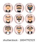 stories covers icons avatar... | Shutterstock . vector #1834792525