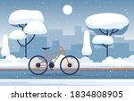 Winter Snow Tree Snowfall City...