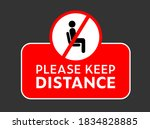 please dont use this seat or...   Shutterstock .eps vector #1834828885