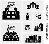 Business Vector Icons Set On...