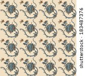 elegance seamless pattern with... | Shutterstock .eps vector #183487376
