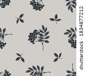 seamless pattern with hand... | Shutterstock .eps vector #1834877212