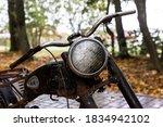 Old  Rusty  Broken Soviet...