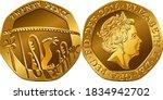 British Money Gold Coin Twenty...