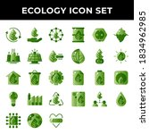Ecology Icon Set Include...