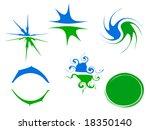 vector logo elements - stock vector