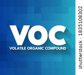 Voc   Volatile Organic Compoun...