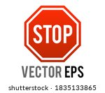 the isolated vector gradient... | Shutterstock .eps vector #1835133865