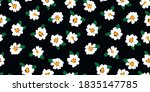 abstract floral seamless... | Shutterstock .eps vector #1835147785