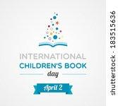 international children's book...   Shutterstock .eps vector #183515636