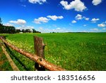 Country Landscape With...