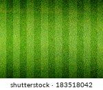 soccer football grass field | Shutterstock . vector #183518042