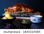 Roasted Goose With Blurred...