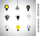 Concept Vector Icons Set Of...