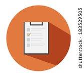 document icon  | Shutterstock .eps vector #183529505