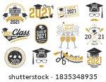 set of vector class of 2021...   Shutterstock .eps vector #1835348935