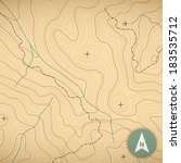 topographic map background... | Shutterstock .eps vector #183535712