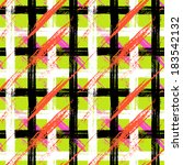 vector seamless plaid pattern... | Shutterstock .eps vector #183542132