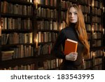 Beautiful Girl In The Library ...