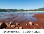 Low Water Levels Reveal Red...