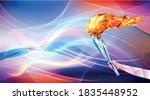 vector illustration flame in... | Shutterstock .eps vector #1835448952