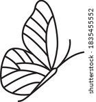 vector editable line stroke...   Shutterstock .eps vector #1835455552
