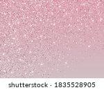 bridal pink rose gold glitter...   Shutterstock .eps vector #1835528905