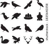 black icons on white background ... | Shutterstock .eps vector #1835640358