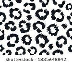 leopard skin seamless pattern.... | Shutterstock .eps vector #1835648842