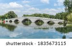 Lakes And Stone Bridges In...