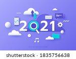 infographic banner template...   Shutterstock .eps vector #1835756638