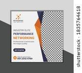 new creative corporate blue  ... | Shutterstock .eps vector #1835764618