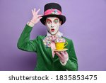 Photo of shocked mad hatter...