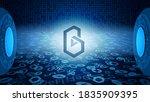 band protocol band token symbol ...   Shutterstock .eps vector #1835909395