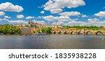 Panorama Of Prague City...