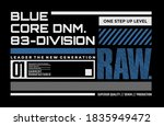 raw denim  modern and stylish... | Shutterstock .eps vector #1835949472