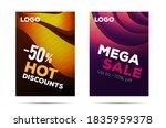 set of horizontal banners for...   Shutterstock .eps vector #1835959378