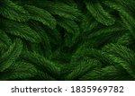 christmas tree pattern.... | Shutterstock .eps vector #1835969782