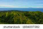 Aerial View Of Mountains And...