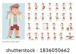 set of kid character vector... | Shutterstock .eps vector #1836050662