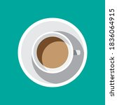 coffee poster advertisement...   Shutterstock .eps vector #1836064915