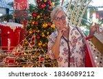 Happy White Haired Senior Woma...