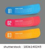 modern text box template ...   Shutterstock .eps vector #1836140245